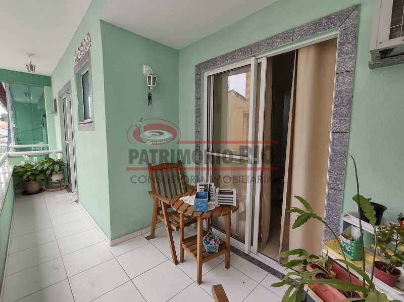 21 - Casa de Condomínio, Pça Seca, 2suites, terraço e Financiando. - PACN20147 - 12