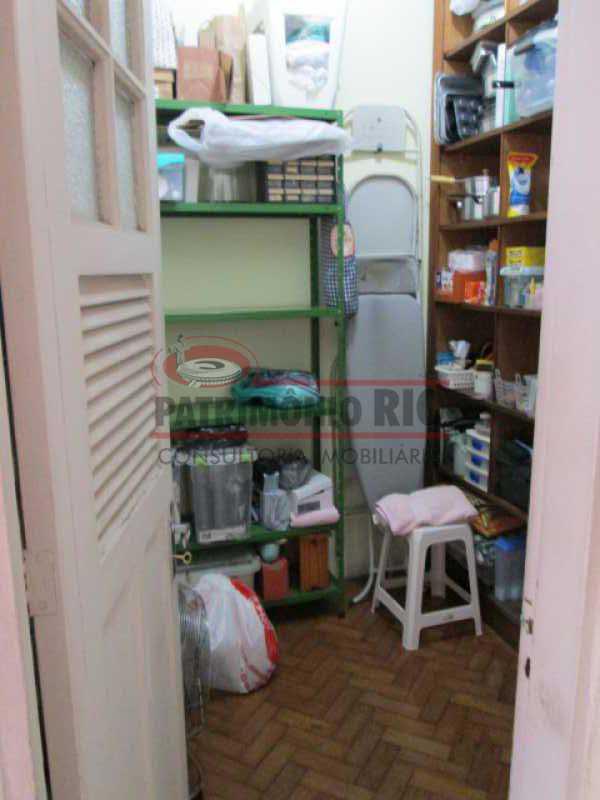 IMG_1553 - Apto tipo casa 3 quartos com dependência completa e garagem - PAAP31184 - 30