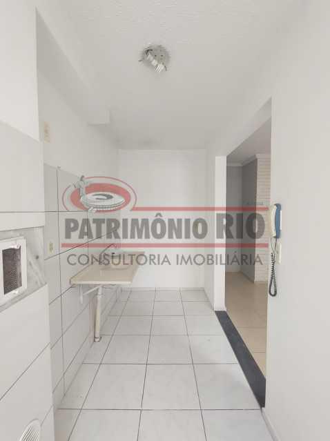 3 - Apto, térreo, Rocha Miranda, 1 quarto, 1 vaga e financia - PAAP10518 - 8
