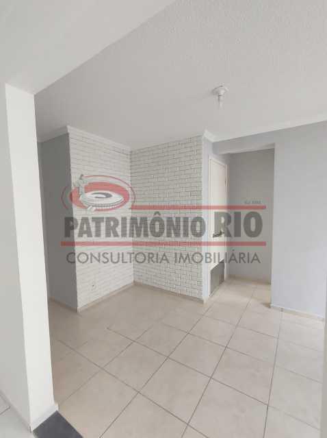 4 - Apto, térreo, Rocha Miranda, 1 quarto, 1 vaga e financia - PAAP10518 - 5