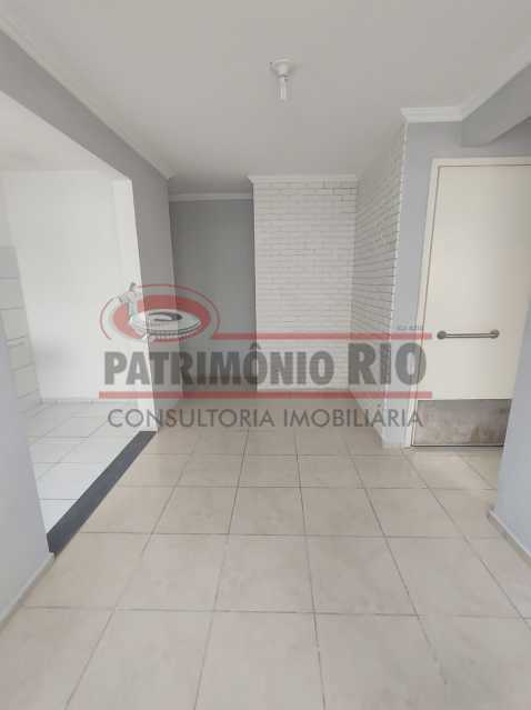 5 - Apto, térreo, Rocha Miranda, 1 quarto, 1 vaga e financia - PAAP10518 - 4