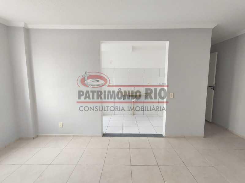 6 - Apto, térreo, Rocha Miranda, 1 quarto, 1 vaga e financia - PAAP10518 - 6