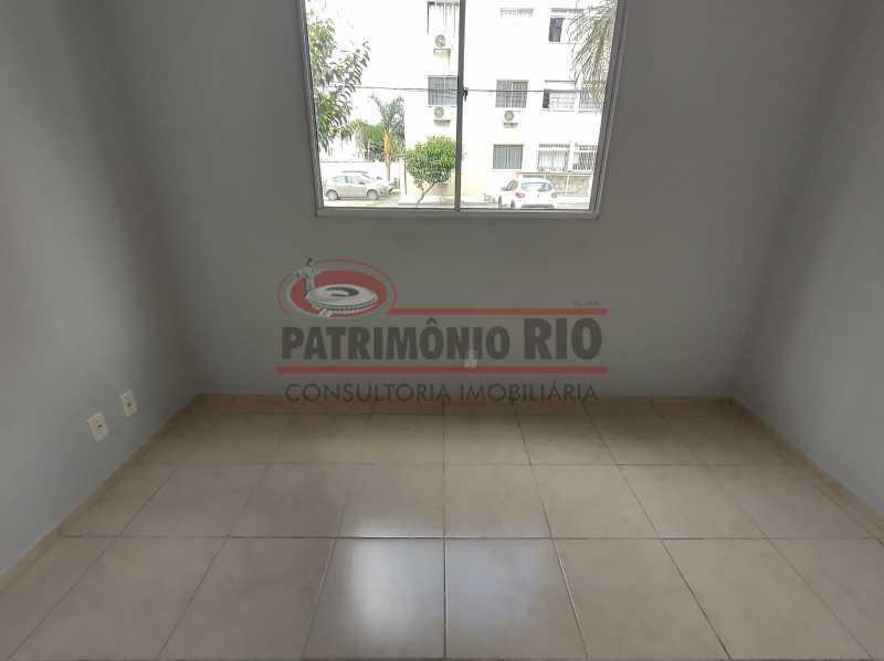7 - Apto, térreo, Rocha Miranda, 1 quarto, 1 vaga e financia - PAAP10518 - 14