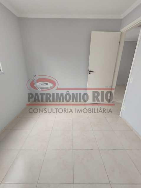 10 - Apto, térreo, Rocha Miranda, 1 quarto, 1 vaga e financia - PAAP10518 - 10