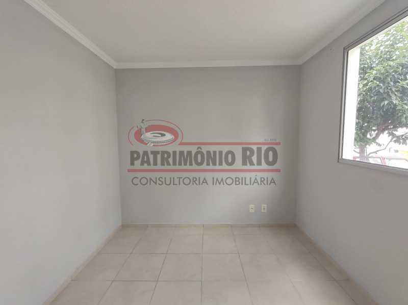 12 - Apto, térreo, Rocha Miranda, 1 quarto, 1 vaga e financia - PAAP10518 - 13