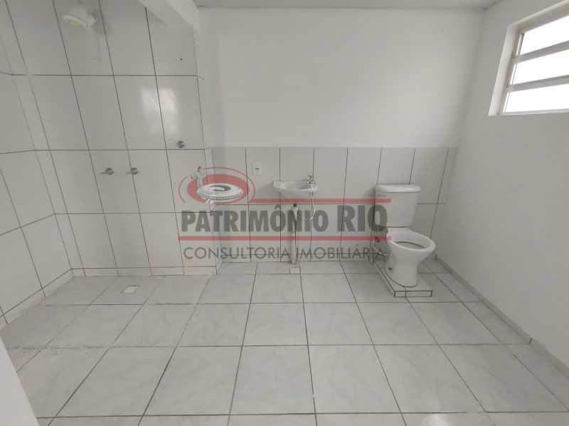 13 - Apto, térreo, Rocha Miranda, 1 quarto, 1 vaga e financia - PAAP10518 - 16