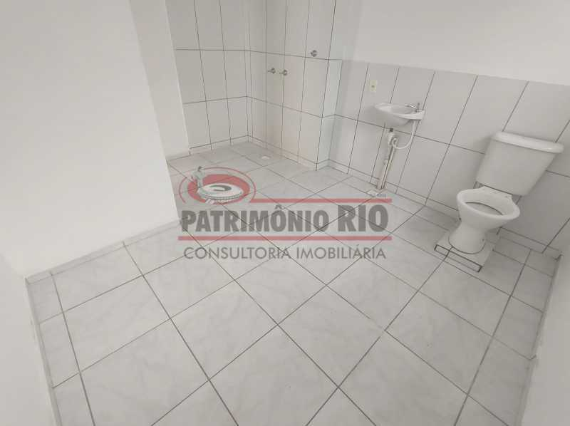 14 - Apto, térreo, Rocha Miranda, 1 quarto, 1 vaga e financia - PAAP10518 - 17