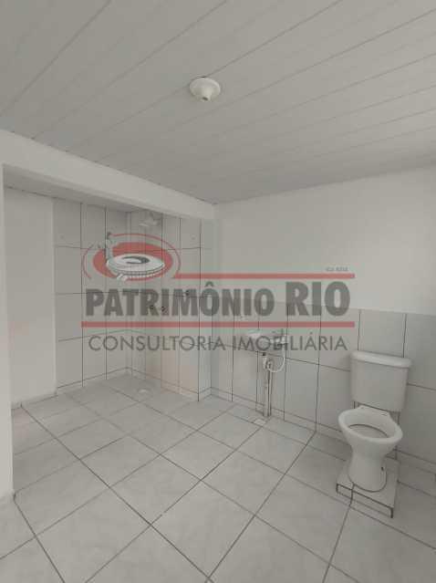 15 - Apto, térreo, Rocha Miranda, 1 quarto, 1 vaga e financia - PAAP10518 - 18