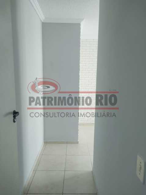 18 - Apto, térreo, Rocha Miranda, 1 quarto, 1 vaga e financia - PAAP10518 - 3