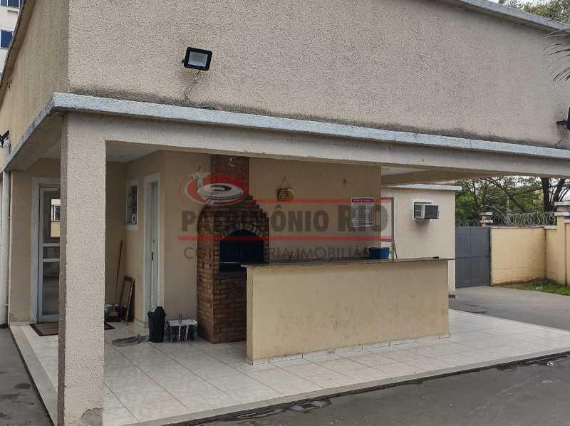 2 - Apartamento, Rocha Miranda, Condomínio Parque Reudi, 1quarto, 1vaga e Financia - PAAP10521 - 19