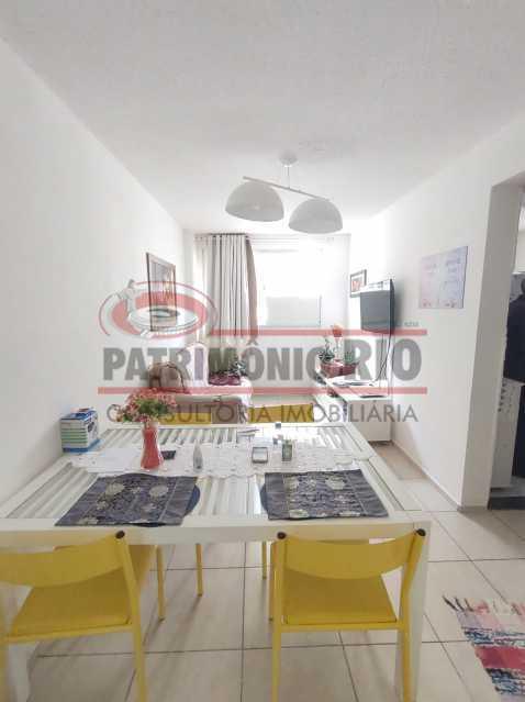 18 - Apartamento, Rocha Miranda, Condomínio Parque Reudi, 1quarto, 1vaga e Financia - PAAP10521 - 1