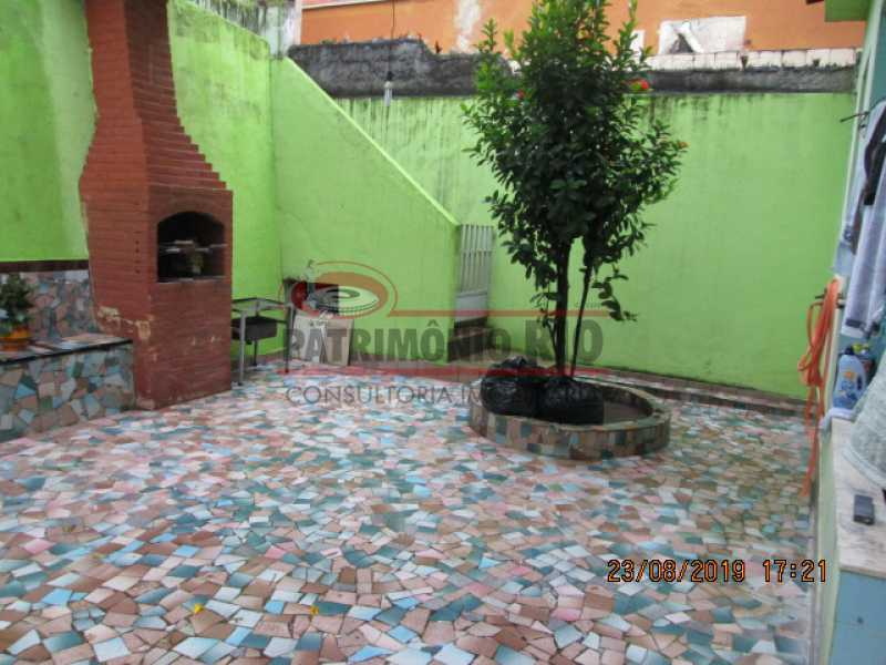 IMG_9651 - Espetacular Casa Triplex com Terraço, 3qtos, vagas de garagem, Quintal - Braz de Pina - VR30179 - 26