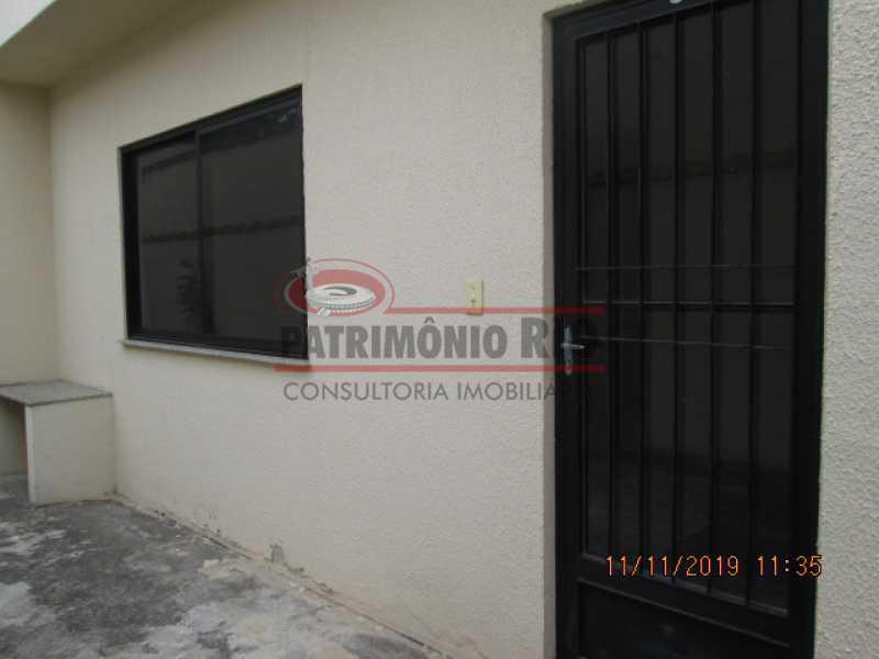 IMG_0442 - ESPETACULAR CASA DUPLEX, 3QTOS, VAGA DE GARAGEM - PRIMEIRA LOCAÇÃO - COLÉGIO - PACA30028 - 29