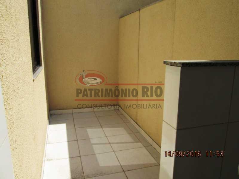 IMG_2885 - ESPETACULAR APTO TIPO CASA TÉRREO (LINEAR) PODENDO AMPLIAR - PRIMEIRA LOCAÇÃO - PARADA DE LUCAS - PAAP10149 - 16
