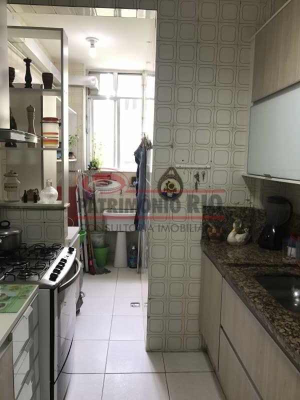 IMG_7447 - Apartamento frente, 2 qts, cozinha planejada, área separada, 1 vaga e doc ok - PAAP21498 - 22