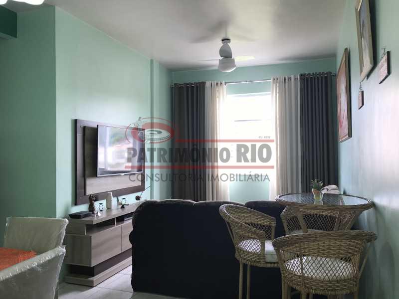 IMG_7472 - Apartamento frente, 2 qts, cozinha planejada, área separada, 1 vaga e doc ok - PAAP21498 - 1