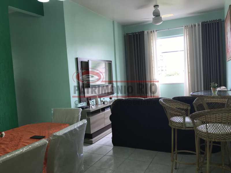 IMG_7474 - Apartamento frente, 2 qts, cozinha planejada, área separada, 1 vaga e doc ok - PAAP21498 - 8