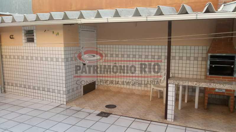 AREA02 - Espetacular Casa Triplex 3 quartos, 2 vagas de garagem Rocha Miranda - PACA30266 - 5