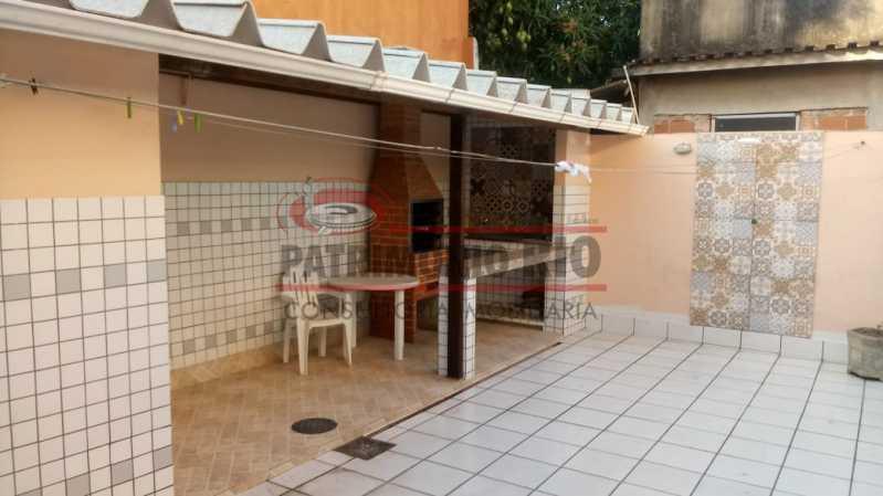 AREA04 - Espetacular Casa Triplex 3 quartos, 2 vagas de garagem Rocha Miranda - PACA30266 - 1