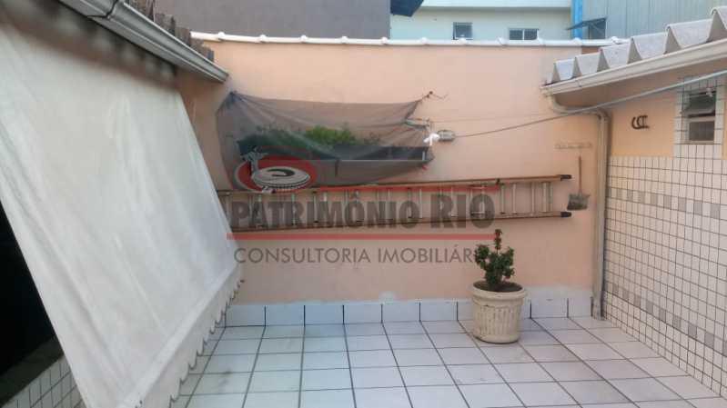 AREA05 - Espetacular Casa Triplex 3 quartos, 2 vagas de garagem Rocha Miranda - PACA30266 - 4