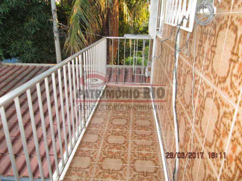 IMG_4172 - Espetacular Casa Triplex, 3quartos, 3 vagas de garagem - Vista Alegre - PACA30275 - 1