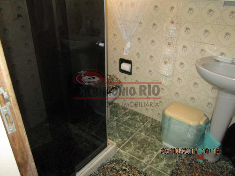 IMG_4186 - Espetacular Casa Triplex, 3quartos, 3 vagas de garagem - Vista Alegre - PACA30275 - 17
