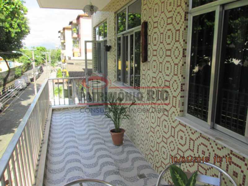 01 - apartamento 2qtos com varanda em vista alegre no bairro araujo - PAAP22014 - 1