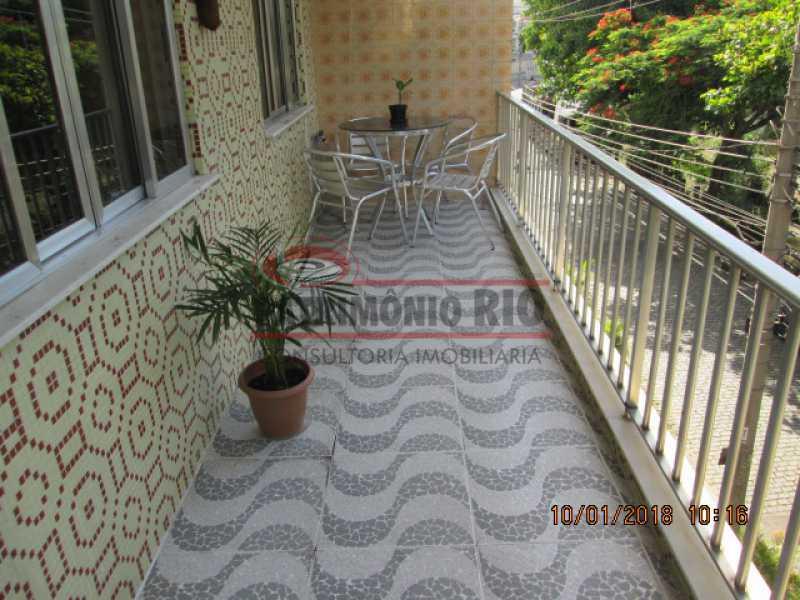 02 - apartamento 2qtos com varanda em vista alegre no bairro araujo - PAAP22014 - 3