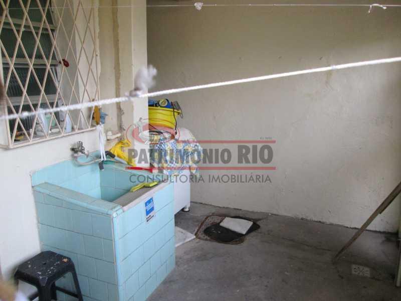 IMG_0474 - Bom apartamento térreo 3qtos com quintal - PAAP30558 - 20