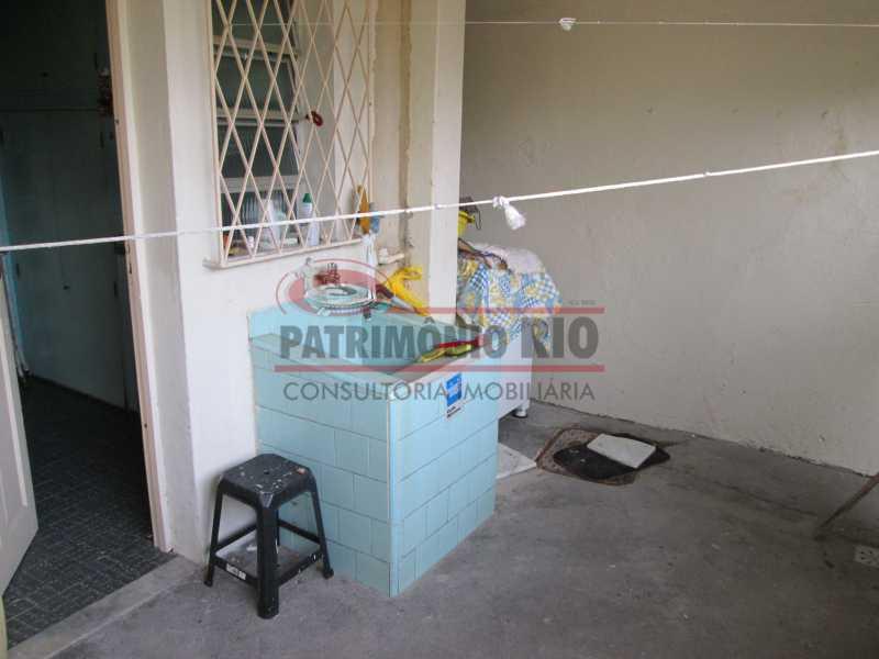 IMG_0475 - Bom apartamento térreo 3qtos com quintal - PAAP30558 - 21
