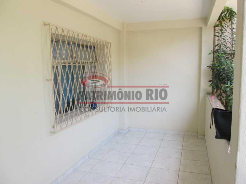 IMG_0489 - Bom apartamento térreo 3qtos com quintal - PAAP30558 - 4