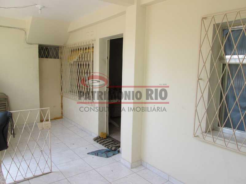 IMG_0491 - Bom apartamento térreo 3qtos com quintal - PAAP30558 - 5