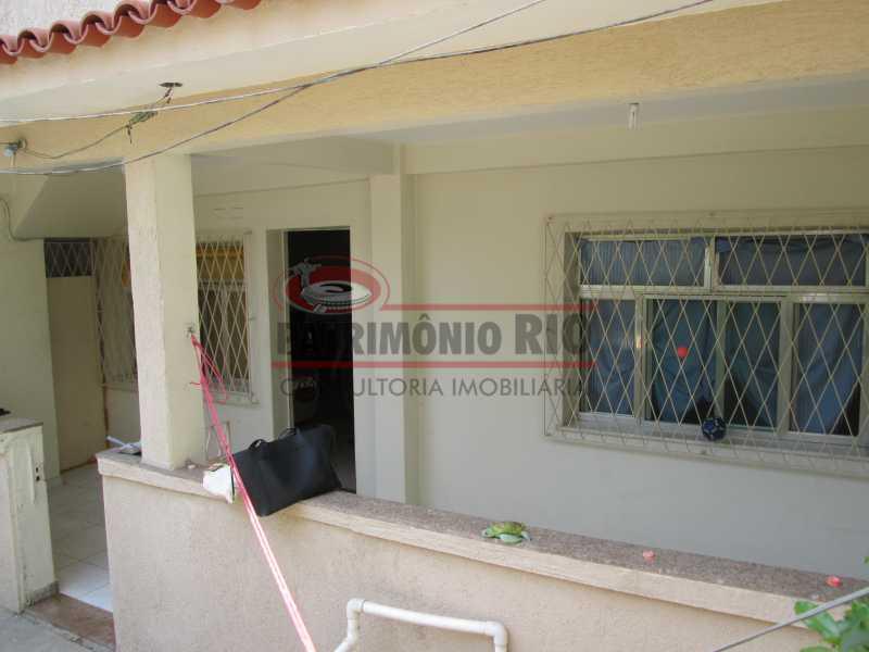 IMG_0492 - Bom apartamento térreo 3qtos com quintal - PAAP30558 - 3