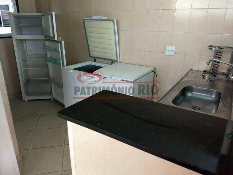 26.Cozinha da Churrasqueira - ótimo apto 2qtos Engenho de Dentro - PAAP22198 - 25