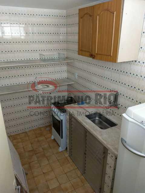 29.Cozinha do Salao de Festas - ótimo apto 2qtos Engenho de Dentro - PAAP22198 - 28