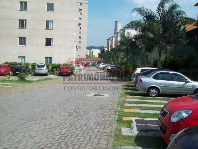 101_6419 - Excelente apartamento Condomínio fechado sala 2qtos - PAAP22258 - 28