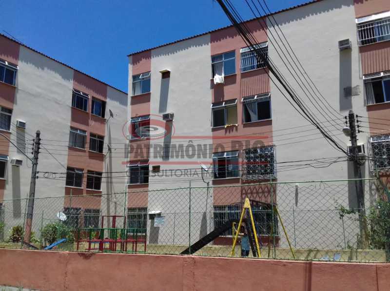 1 - Excelente apartamento 2qtos com vaga, colado na Estação de Metrô de Tomás Coelho - PAAP22343 - 1