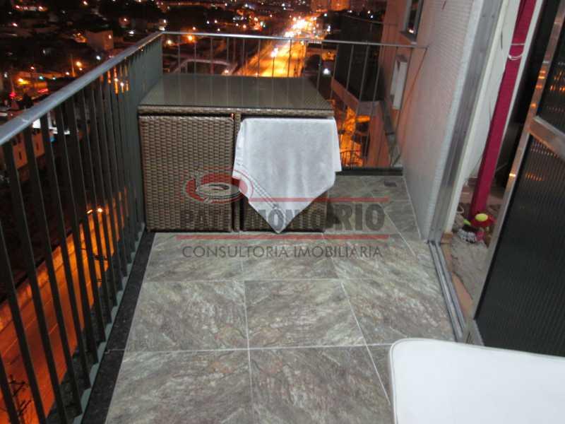 IMG_0039 - Apartamento, Penha, 2quartos mais dependência completa, 2varandas, 1vaga - PAAP22360 - 6