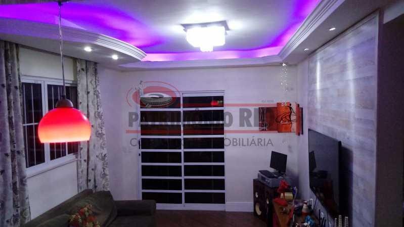 2 - Lindo apartamento tipo casa sala 2qtos churrasqueira - PAAP22428 - 3