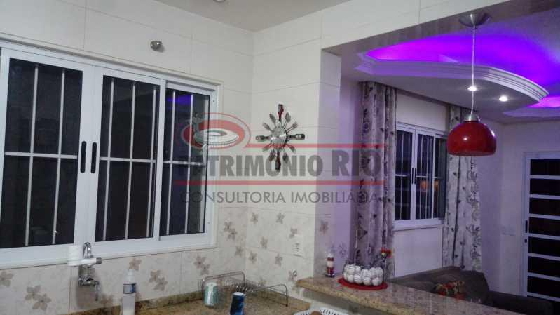 3 - Lindo apartamento tipo casa sala 2qtos churrasqueira - PAAP22428 - 4