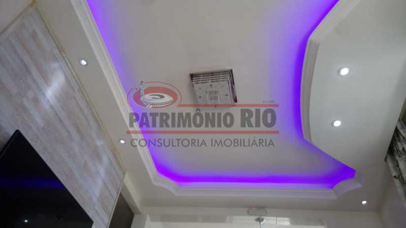 4 - Lindo apartamento tipo casa sala 2qtos churrasqueira - PAAP22428 - 5