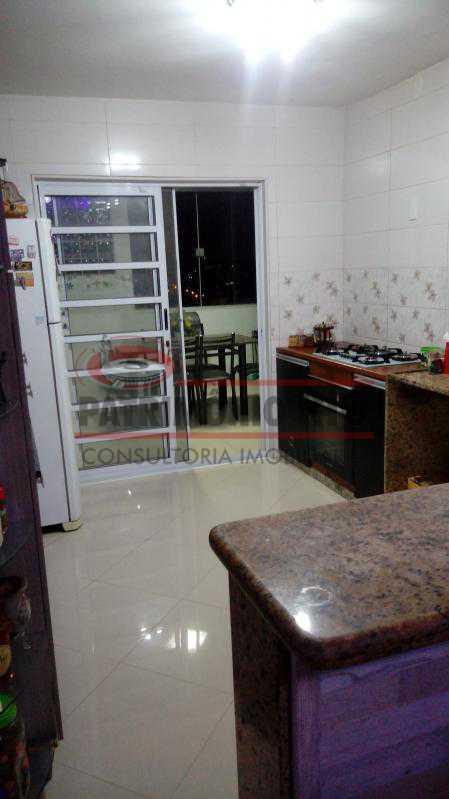 7 - Lindo apartamento tipo casa sala 2qtos churrasqueira - PAAP22428 - 8