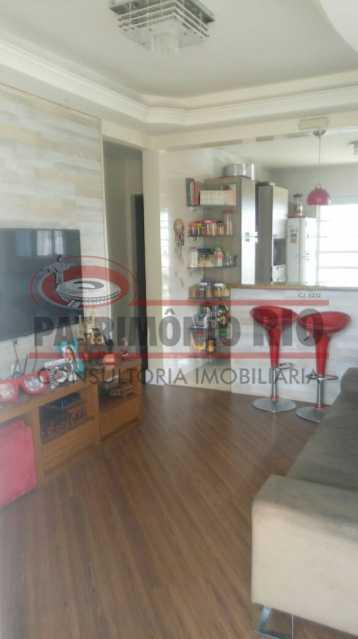 8 - Lindo apartamento tipo casa sala 2qtos churrasqueira - PAAP22428 - 9