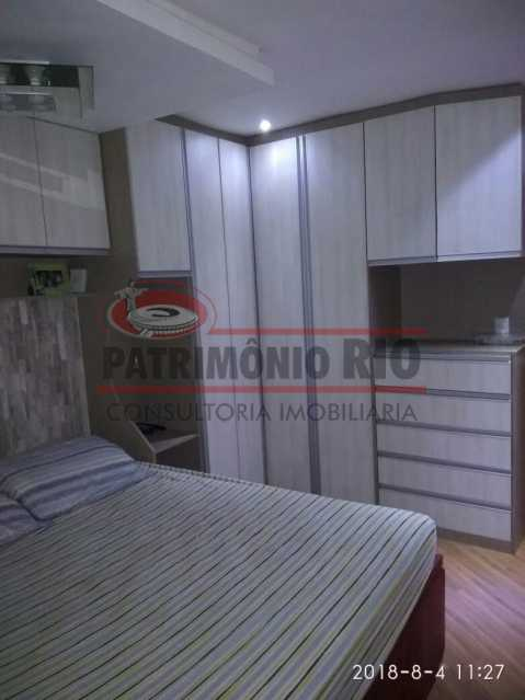 10 - Lindo apartamento tipo casa sala 2qtos churrasqueira - PAAP22428 - 11