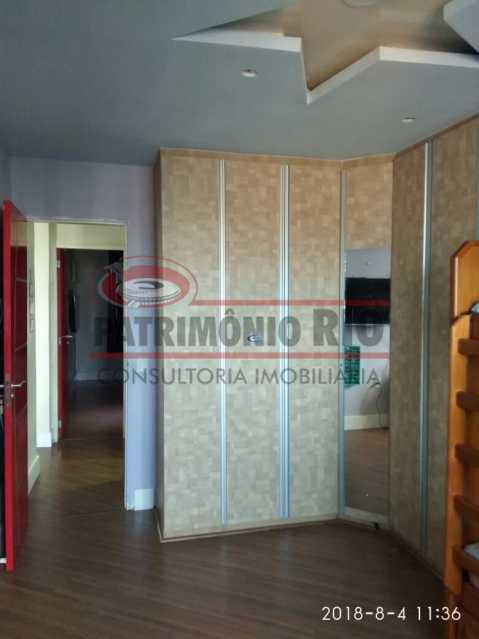 11 - Lindo apartamento tipo casa sala 2qtos churrasqueira - PAAP22428 - 12