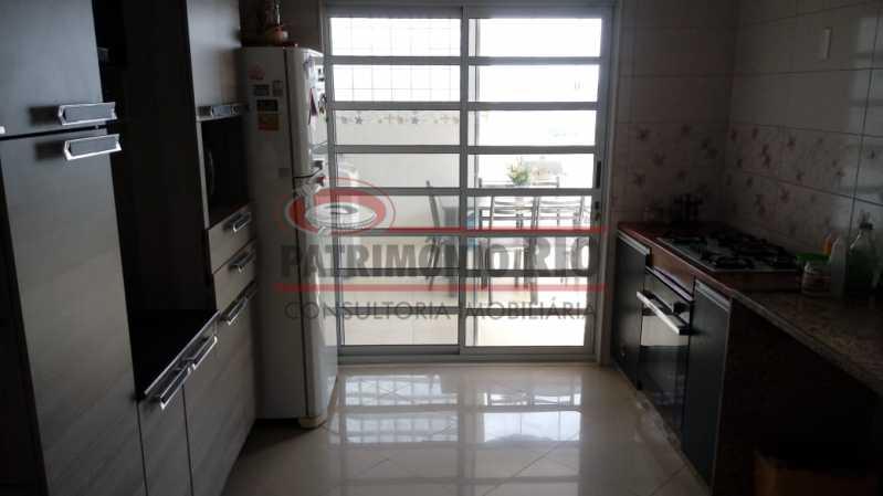 16 - Lindo apartamento tipo casa sala 2qtos churrasqueira - PAAP22428 - 17