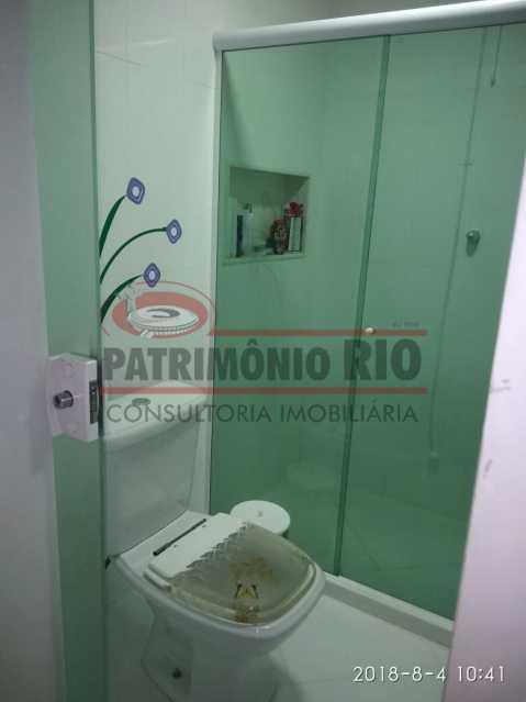 19 - Lindo apartamento tipo casa sala 2qtos churrasqueira - PAAP22428 - 20