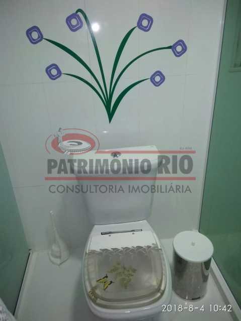 20 - Lindo apartamento tipo casa sala 2qtos churrasqueira - PAAP22428 - 21