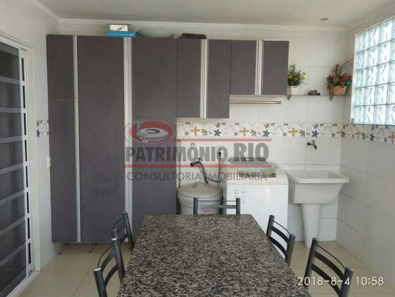 21 - Lindo apartamento tipo casa sala 2qtos churrasqueira - PAAP22428 - 22
