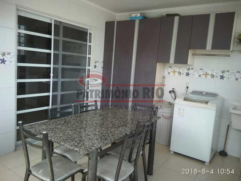 22 - Lindo apartamento tipo casa sala 2qtos churrasqueira - PAAP22428 - 23